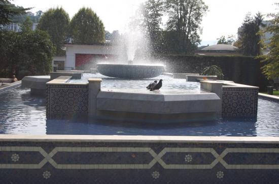 Fontaines au Parc de Verdure
