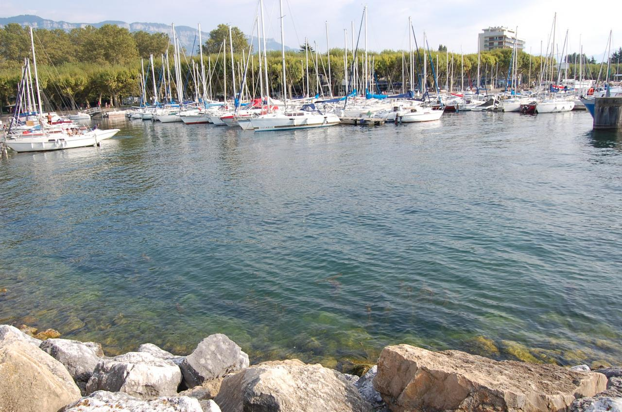 Le petit port - Aix les Bains