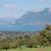 Le lac d'Annecy - vu des Bauges